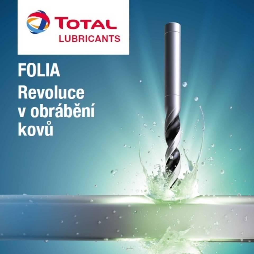 Jsme distributor nových typů výkonných kovoobráběcích kapalin TOTAL FOLIA